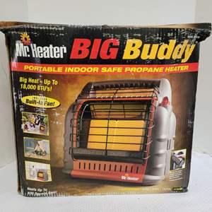 Lot #68 - NIB Mr. Heater Big Buddy Heater, Up to 18,000 BTU