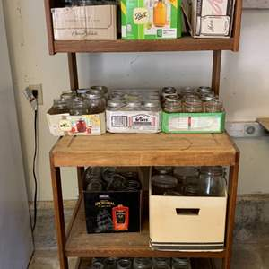 Lot #27 - Great Selection of Canning Jars and Canning Accessories