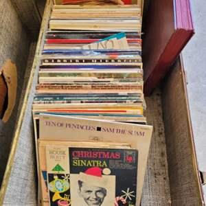 Lot #30 - Vintage Vinyl: Air Supply, Sister Sledge, Gary Pucket, Elvis, Ringo, Bill Haley and More