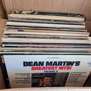 Lot #35 - Vintage Vinyl: Carpenters, Rod McKuen, Mac Davis, Captain & Tennille, Al Hirt & More. Approx. 50