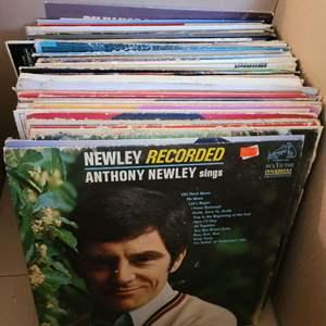 Lot #37 - Vintage Vinyl About 50: Alabama, Tony Orlando, Jan & Dean, Tom Jones, Herbie Hancock & More