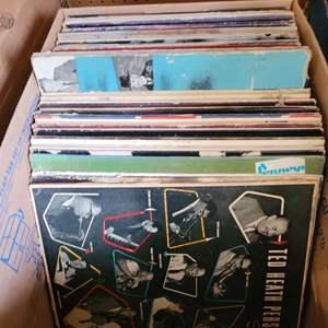Lot #38 - About 60 Vintage Albums: Mac Davis, Don Ho, Bette Middler, Bobby McFerrin, Elvis and More