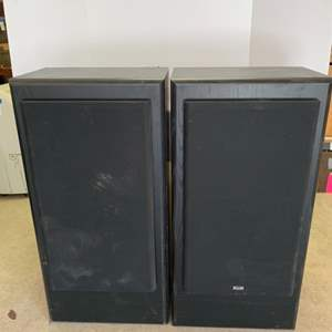 Lot #49 - KLH Audio Systems Speakers Model 4132