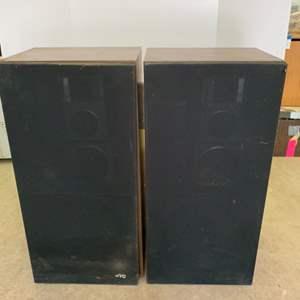 Lot #51 - Two JVC Speakers Model SK-S66