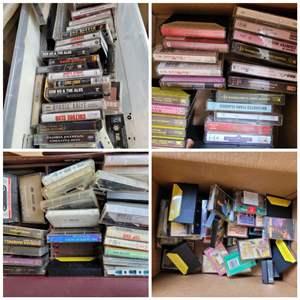Lot #53 - Vintage Cassette Selection