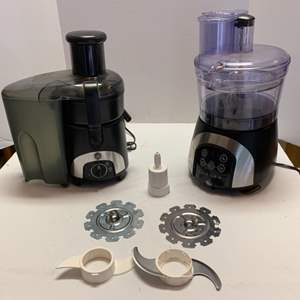 Lot #55 - Two GE Appliances: Juicer and Mixer-Blender