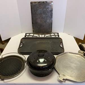 Lot #65 - Lodge Grid, Guardian Service Tray and More