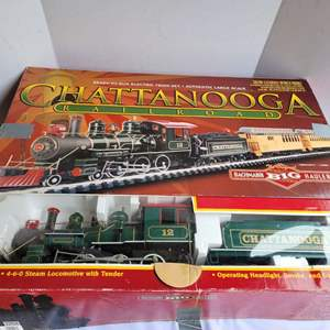 Lot #72 - Bachman Large Scale Chattanooga Electric Train Set