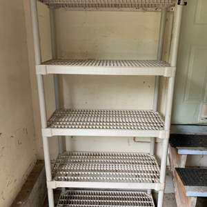 Lot #78 - 4- Shelf Storage Rack