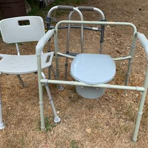 Lot #92 - Drive Porta-Potty and Drive Shower Chair