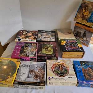 Lot #97 - Small Lot of Family Puzzles