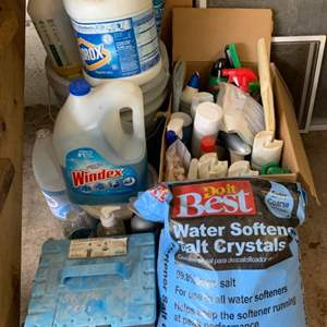 Lot #120 - Cleaning Solutions, Bag of Water Softening Salt Crystals