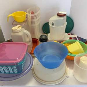 Lot #121 - Tupperware and Other Storage Containers