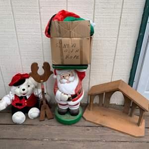 Lot #132 - Vintage Christmas Decorations