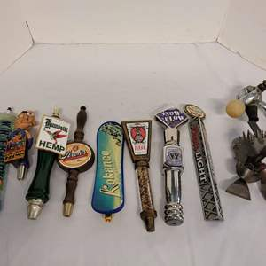 Lot #150 - Collection of Vintage Beer Tap Handles