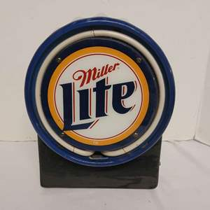 Lot #152 - Miller Lite Electric Neon Sign