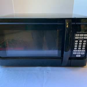 "Lot #165 - Hamilton Beach 1000 Watt Microwave 21"" x 18"" x 12""h"