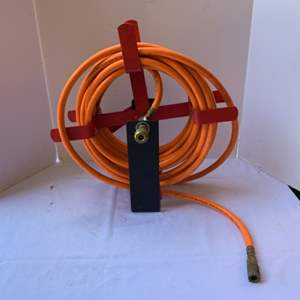 Lot #186 - Compressed Air Hose and Reel