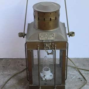 Lot #193 - Vintage Cargo Light No. 3954 Great Britain