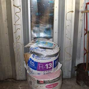 Lot #200 - Window Air Condition Filters, Insulation and More