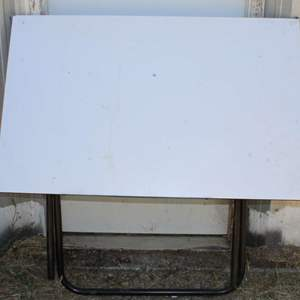 """Lot #214 - Large Drafting Table 48"""" x 30"""" x 49""""h"""