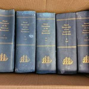 Lot #223 - Dept. of the Navy Naval Documents of the American Revolution, Pub. 1964, Over 1400 Pages Each