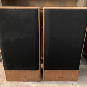 Lot #225 - Vintage Sharp Speakers Model CP-9000