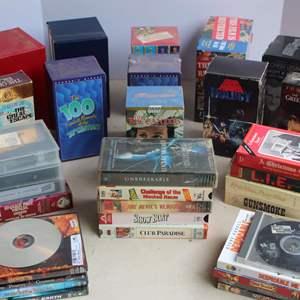 Lot #226 - VHS Movies and Boxed Sets