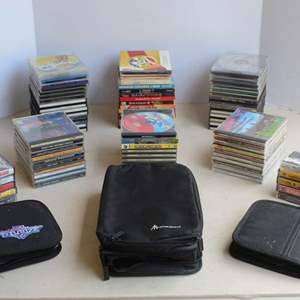 Lot #227 - Large selection of CD's and Cassette Tapes