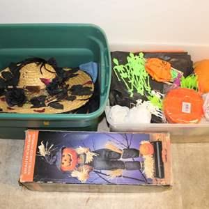Lot #242 - Boxes Full of Fun Halloween Decor