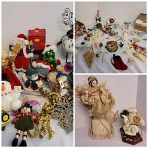 Lot #267 - Variety of Holiday Decor