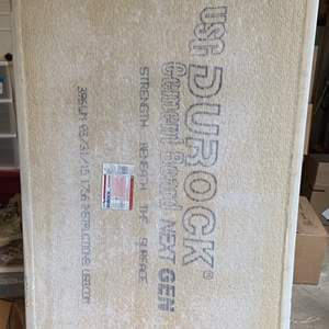 Lot #288 - Four Sheets of Durock Cement Board