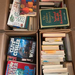 Lot #298 - Four Boxes of Books, All Genres