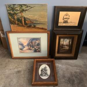 Lot #304 - Signed Artwork, Various Mediums