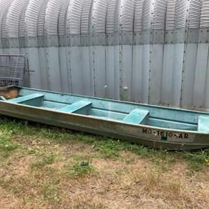 Lot #322 - Sea Sprite 14' Aluminum Boat