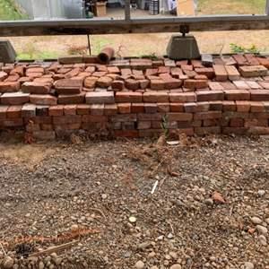 Lot #323 - Big Selection of Red Bricks