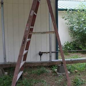 Lot #324 - Werner 8' Ladder