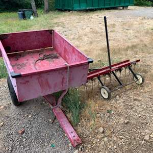 Lot #325 - Craftsman Riding Mower Attachments