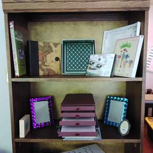 Lot #13 - Large Scrapbook and Photo Album Frames Lot of 14 Items
