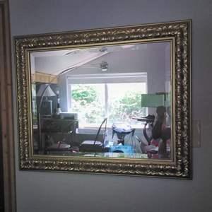 """Lot #16 - Master Craftsman Beveled Mirror 34"""" x 28"""""""