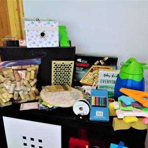 Lot #27CM - Arts and Crafts Items and Organization
