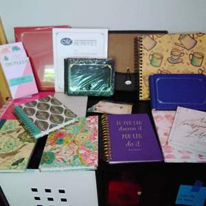 Lot #28CM - Journals, Photo Keepers, Note Pads