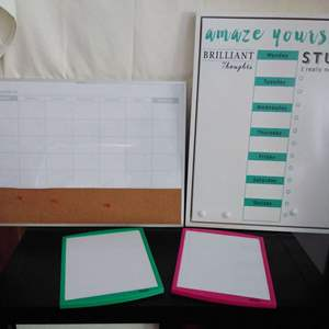 Lot #31CM - Collection of White Boards