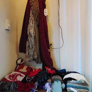 Lot #38CM - Large Lot of Ladies Cold Weather Wear