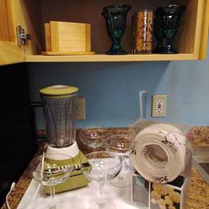 Lot #61 - Blender, Margarita Glasses, New String Lights and more!