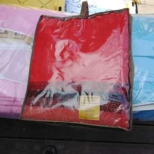 Lot #71-L - Vintage NEW in Original Packaging Blankets Lot of 3