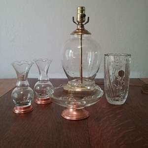 Lot #110-KL:  Another Princess House Lot with Rare Lamp!