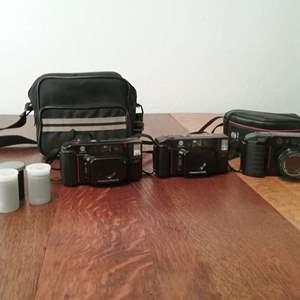 Lot #113-KL:  Camera Lot Minolta