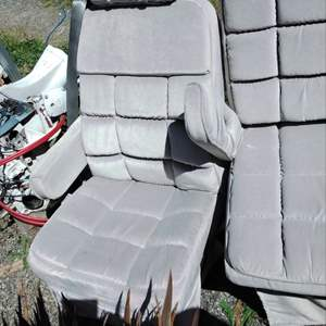 Lot #127 Good Condition FORD E-150 Universal Econoline Van Seats No Rips!