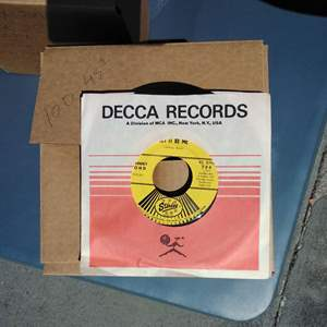 Lot #131-D:  Records from Jukebox 100 45's